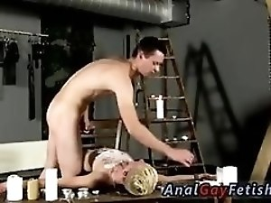 Diaper boy bondage gay sex Splashed With Wax And Cum